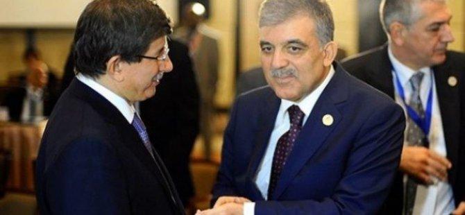 Abdullah Gül,Davutoğlu harıl harıl çalışıyor tabelayı asıyor
