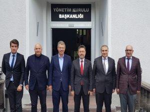 Gübretaş Genel Müdürü Kayseri Şeker'i ziyaret etti