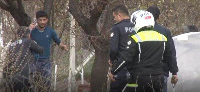 Kayseri'de 15 suçtan aranan silahlı bir şahıs yakalandı