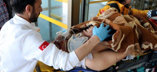 Kayseri'de şafak operasyonu aran şahıs 5 kattan atladı