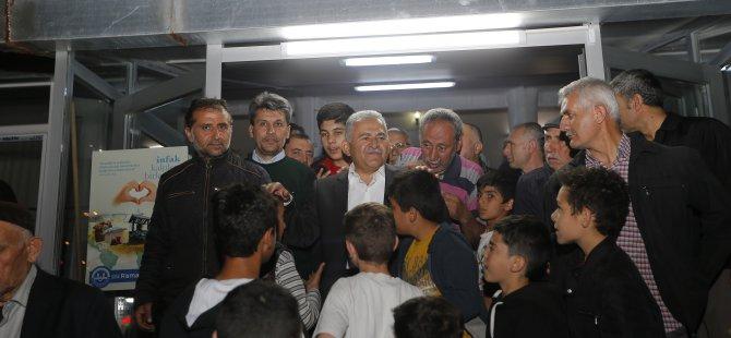Büyükkılıç, Osmanlı Mahallesi'nde vatandaşlarla bir araya geldi