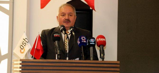 """Başkan Nursaçan: """"İnadına yatırım, inadına üretim"""""""