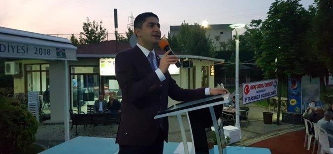 MHP Kayseri Milletvekili Özdemir, Binali Yıldırım için destek istedi
