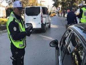 Kayseri'de 709 araca trafik idari para cezası uygulandı