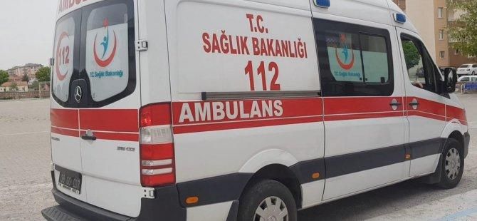 Okulun ikinci katından düşen öğrenci yaralandı