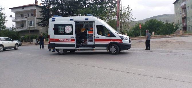 Yahyalı'da trafik kazası: 2 yaralı