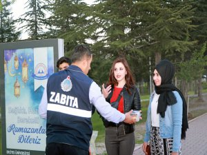Talas'ta İftara Yetişemeyenlere İftariyelik