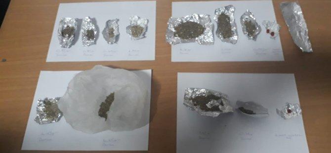 Kayseri'de uyuşturucu operasyonu: 15 gözaltı