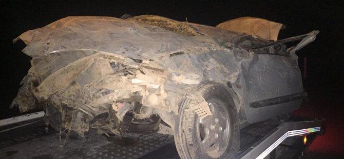 Kayseri-Ankara yolunda trafik kazası 5 kişi yaralandı