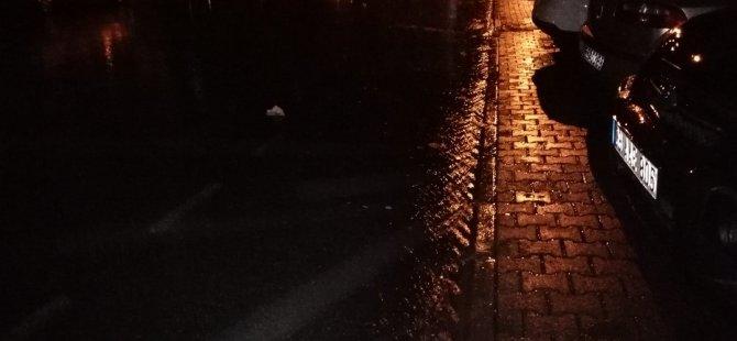Kayseri'de Önce Fındık Büyüklüğünde Dolu, Sonra da Sağanak Yağmur Yağdı