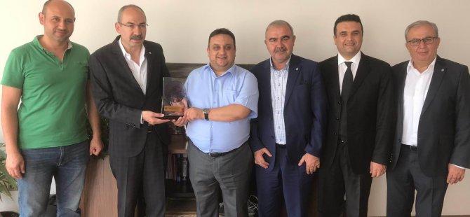 Gülsoy, 'Türkiye'nin En Hızlı Büyüyen 100 Şirketi' arasında yer alan Kayseri'nin 3 işletmesini ziyaret etti