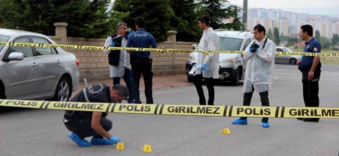 Germir'de Tabanca ile vurulan galerici ağır yaralandı