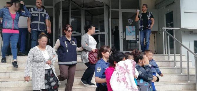 Kayseri polisinden şafak operasyonu 52 kişi yakalandı