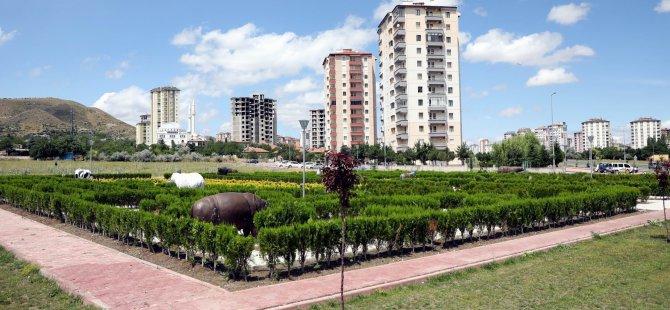 """Palancıoğlu: """"Çocuklara özel labirent parkımız tamamlanmak üzere"""""""