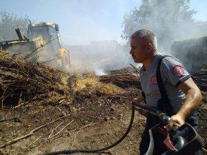 Sindelhöyük'te yangın