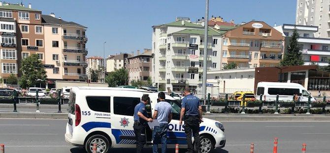 Kayseri'de Cinayet davası yumruklar konuştu: 1 yaralı