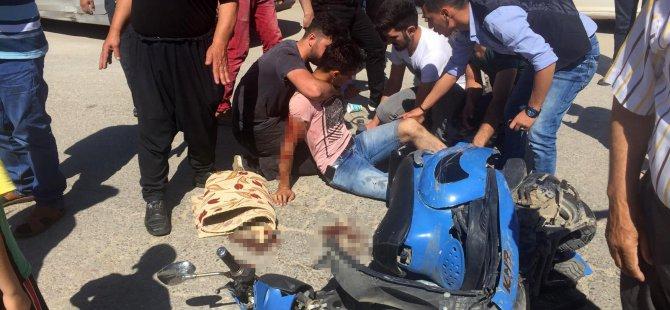 Yahyalı'da trafik kazası 2 kişi yaralandı