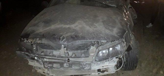 Soysallı-Çayırözü mevkiinde otomobil takla attı: 1 ölü, 3 yaralı