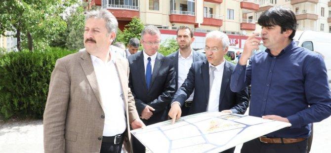 """Palancıoğlu: """"Küçükali mahallesi, her şeyi ile yenilendi"""""""