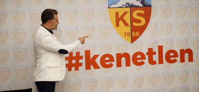 """Sedat Kılınç: """"Herşey Kayserimiz içindi"""""""