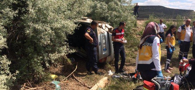 Kayseri - Malatya karayolunda feci kaza: 4 ölü, 1 yaralı