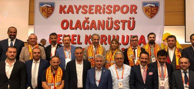 Kayserispor Yeni Yönetim görev dağılımını yaptı