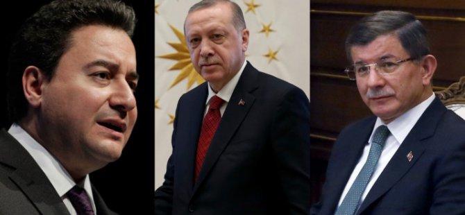 Cumhurbaşkanı Erdoğan'dan Babacan ve Davutoğlu'na sert sözler