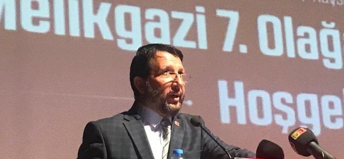Saadet Partisi Melikgazi ilçe Başkanı Sinan Aktaş güven tazeledi