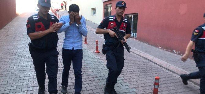 Kocasinan Akin mahallesi'nde Kablo hırsızları yakalandı