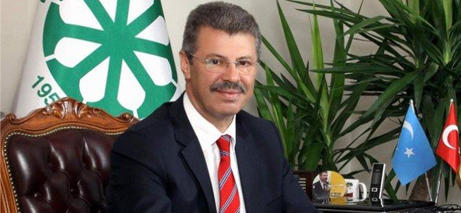 """Başkan Akay: """"En büyük hedefimiz Türk çiftçisinin gelirini artırmak"""""""