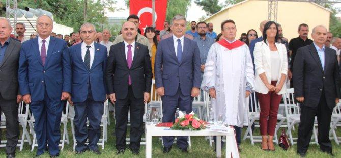 """Abdullah Gül: """"İyi insan olun"""""""
