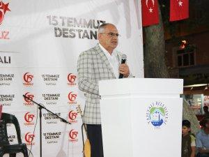 """Öztürk: """" Korkaklar zafer anıtı dikemez"""""""