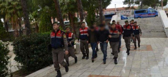 Kayseri'de aranan 215 kişi tutuklanarak cezaevine gönderildi