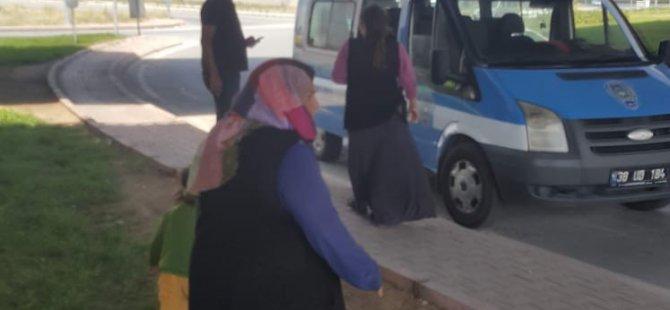 Kayseri Büyükşehir zabıtasından dilenci operasyonu