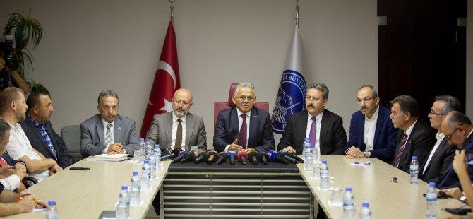 Başkan Büyükkılıç'tan 'pazarcı' açıklaması