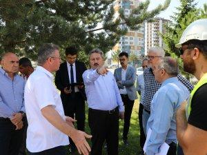 """Palancıoğlu """"Altınoluk Mahallesindeki eski fidanlık alanı, bölge parkı olacak"""""""