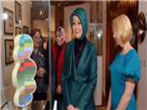 Cumhurbaşkanı Gül'ün Eşi Müze Gezdi