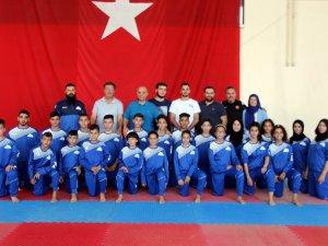 Filistin Taekwondo Milli Takımı Kayseri'de