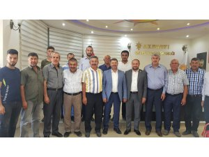 Karayel, AK Parti Develi İlçe Başkanlığı ve Ziraat Odasını Ziyaret Etti