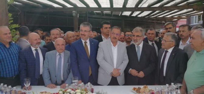 """İl Başkanı Çopuroğlu: """"Bayramda da halkın içinde olmaya devam edeceğiz"""""""