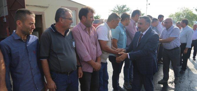 Başkan Cabbar, belediye personeli ile bayramlaştı