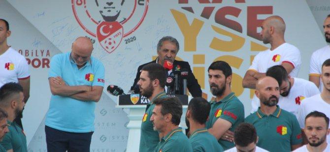 """Bedir: Kayserispor'un gücünü dosta düşmana, içeriye dışarıya göstereceğiz"""""""