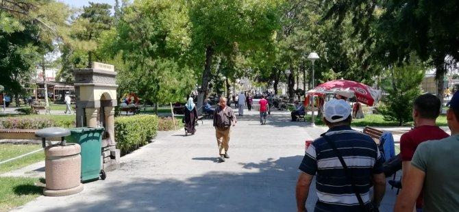 KAYSERİ'DE YILIN EN SICAK GÜNLERİ