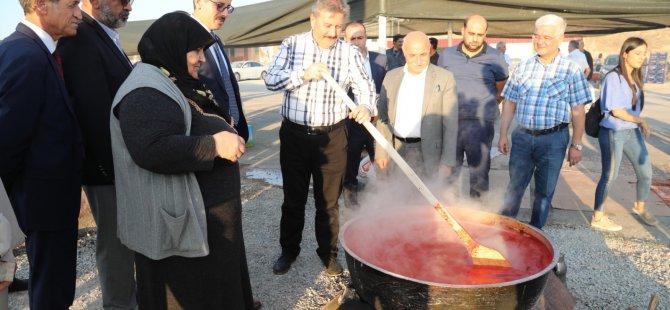 Melikgazi Belsin'de Salça Günleri başlıyor
