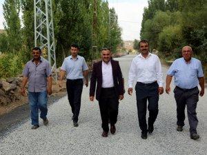 Başkan Cabbar Epçe mahallesine verdiği sözü tuttu