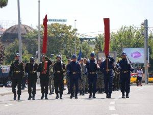 Kayseri'de 30 Ağustos provası
