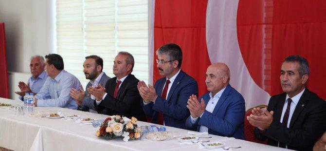 AK PARTİ KAYSERİ'DE VEFA TOPLANTILARINA DEVAM EDİYOR