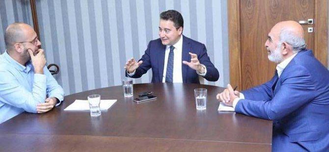 """Babacan: """"Abdullah Gül ile görüşüyoruz"""""""