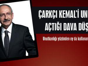 Kılıçdaroğlu açtığı davayı unuttu!