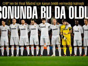 CHP'den Sürpriz Real Madrid Teklifi